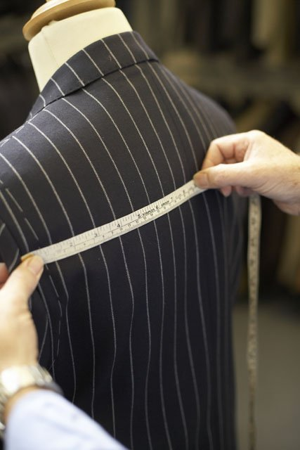 measuring the back length