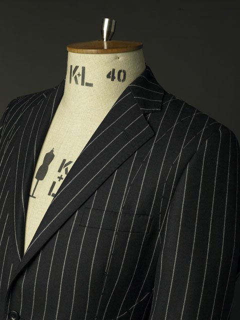 stripe design suit