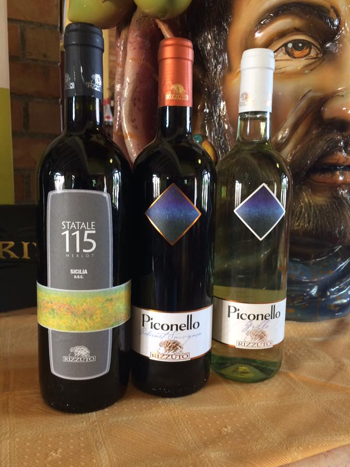 vini della tenuta Rizzuto