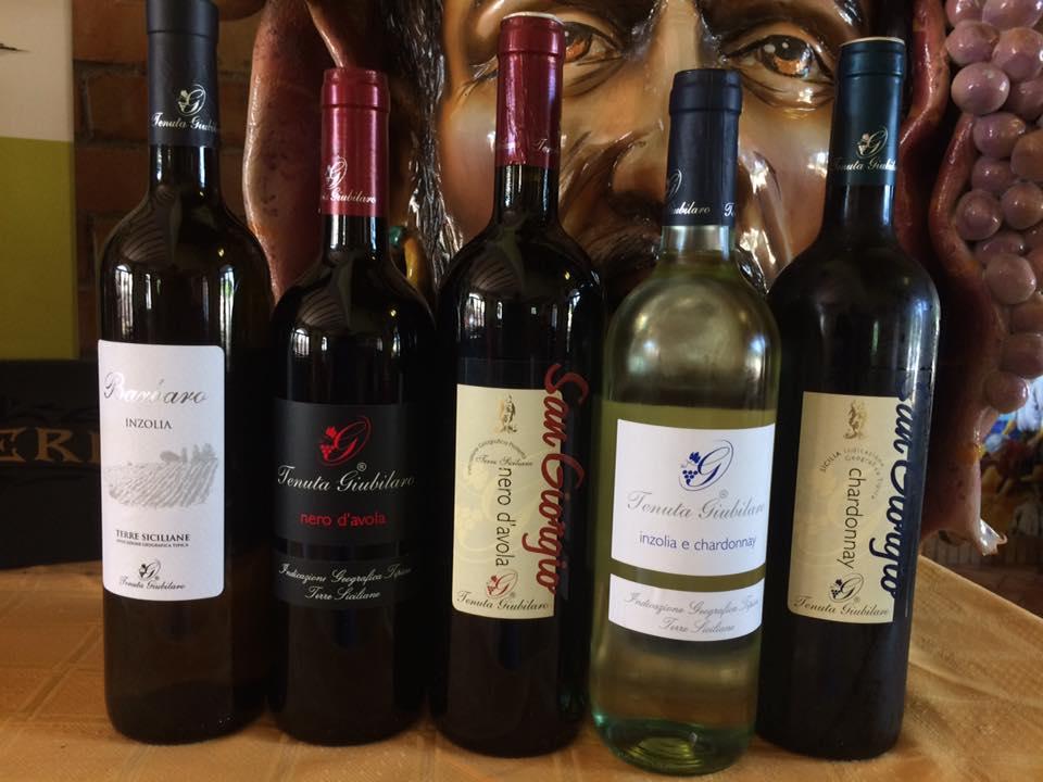 vini della Tenuta Giubilaro