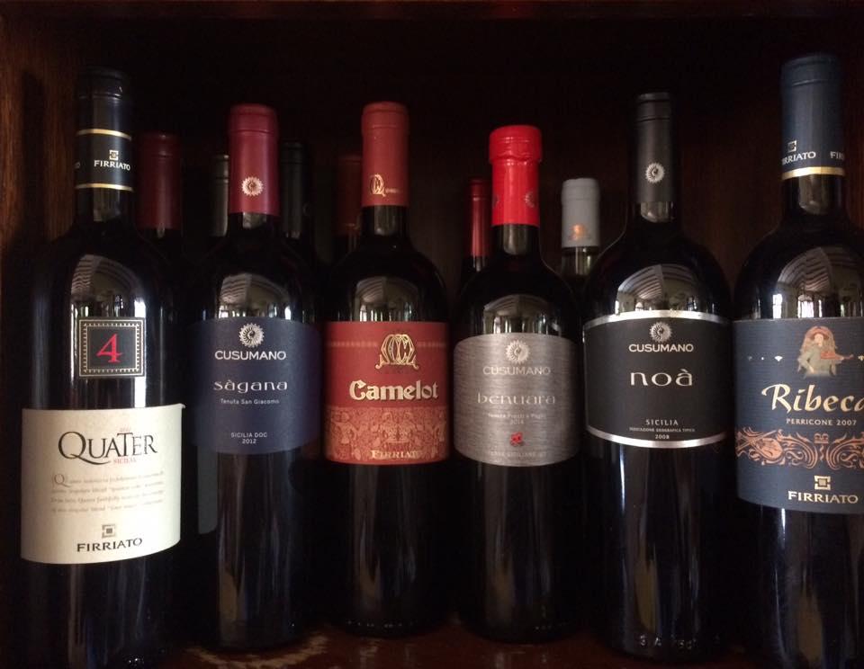 vini a marchio Cusumano