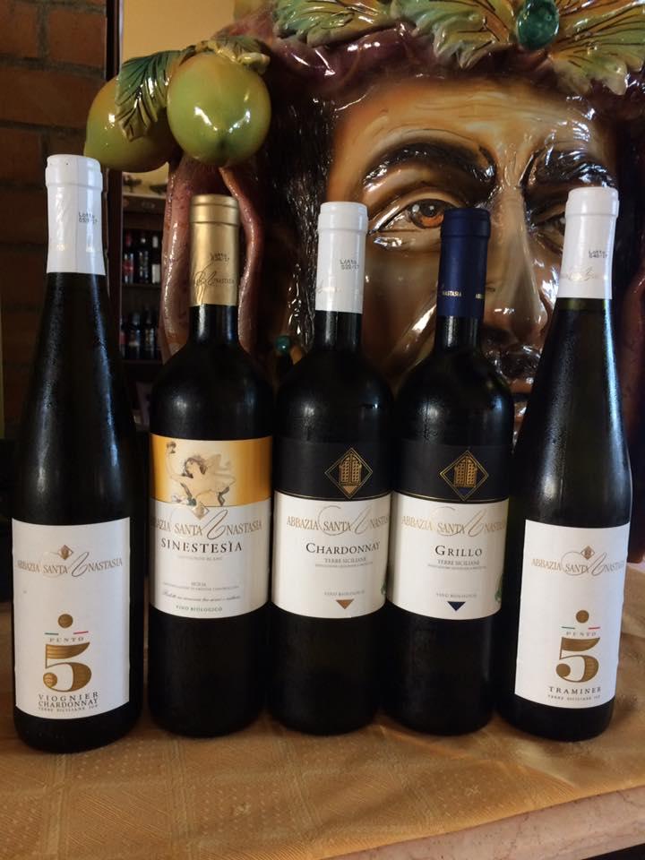 vini dell'Abbazia Santa Anastasia