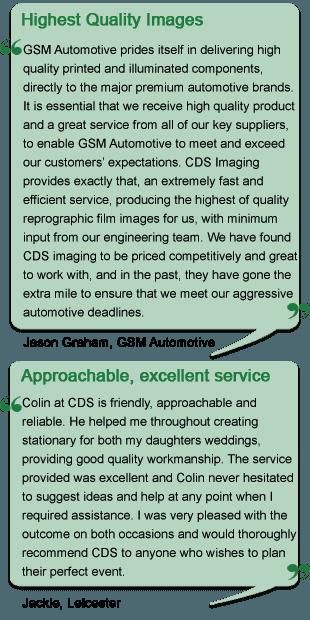 Testimonials 4 and 5