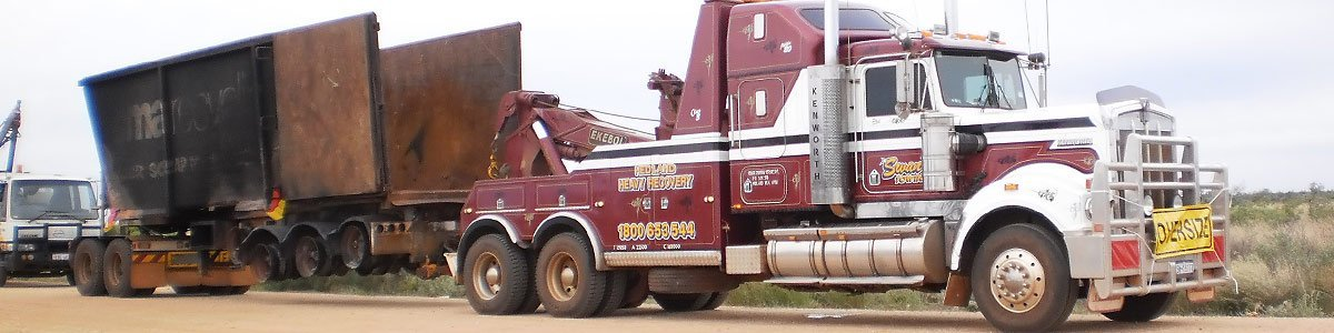 Quality heavy towing and vehicle recovery specialists in Pilbara