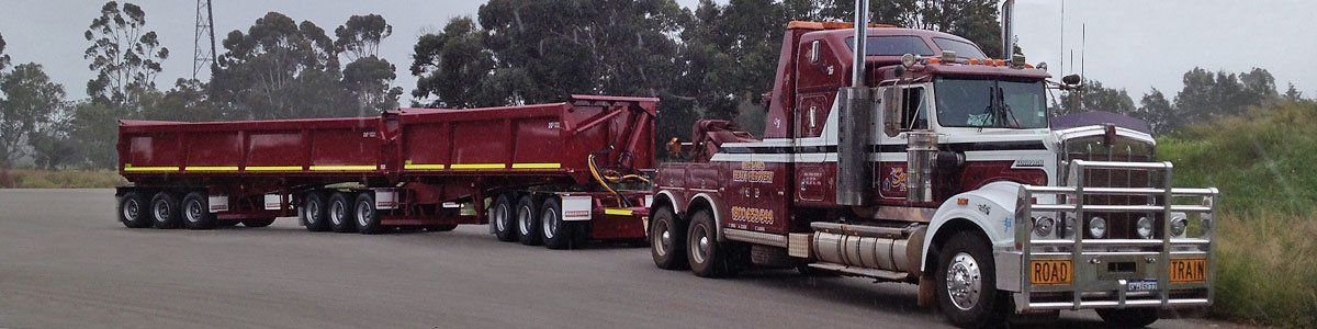 heavy towing and vehicle recovery specialists in Pilbara