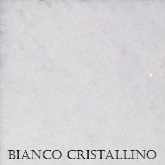 crystalline white