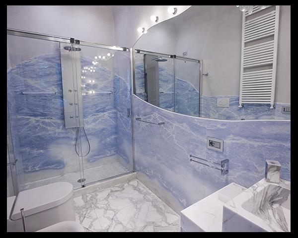 pareti marmo