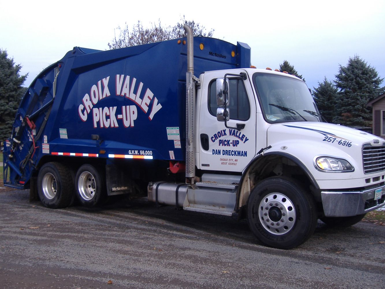 Trash and Recycling Pick up in Chisago City, MN