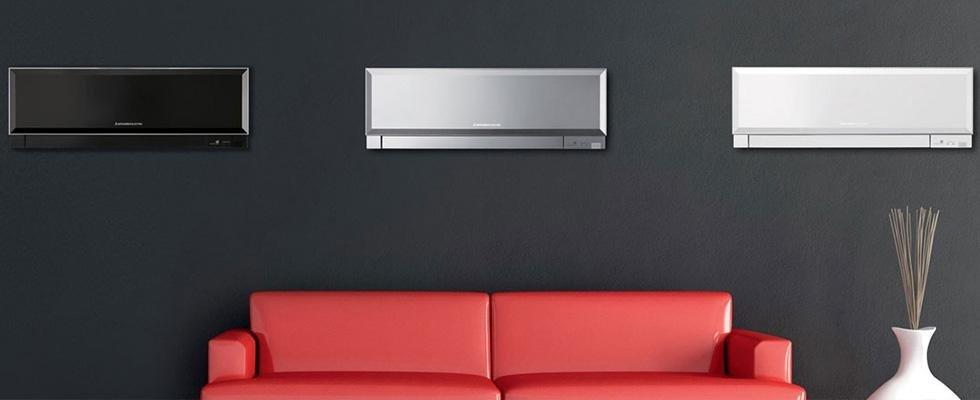 condizionatore installato in soggiorno