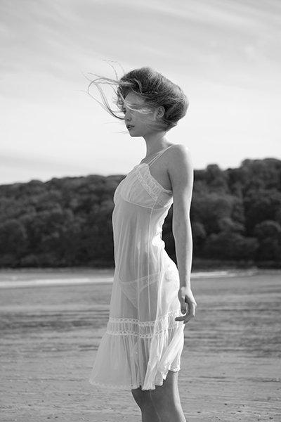 model wearing nightwear