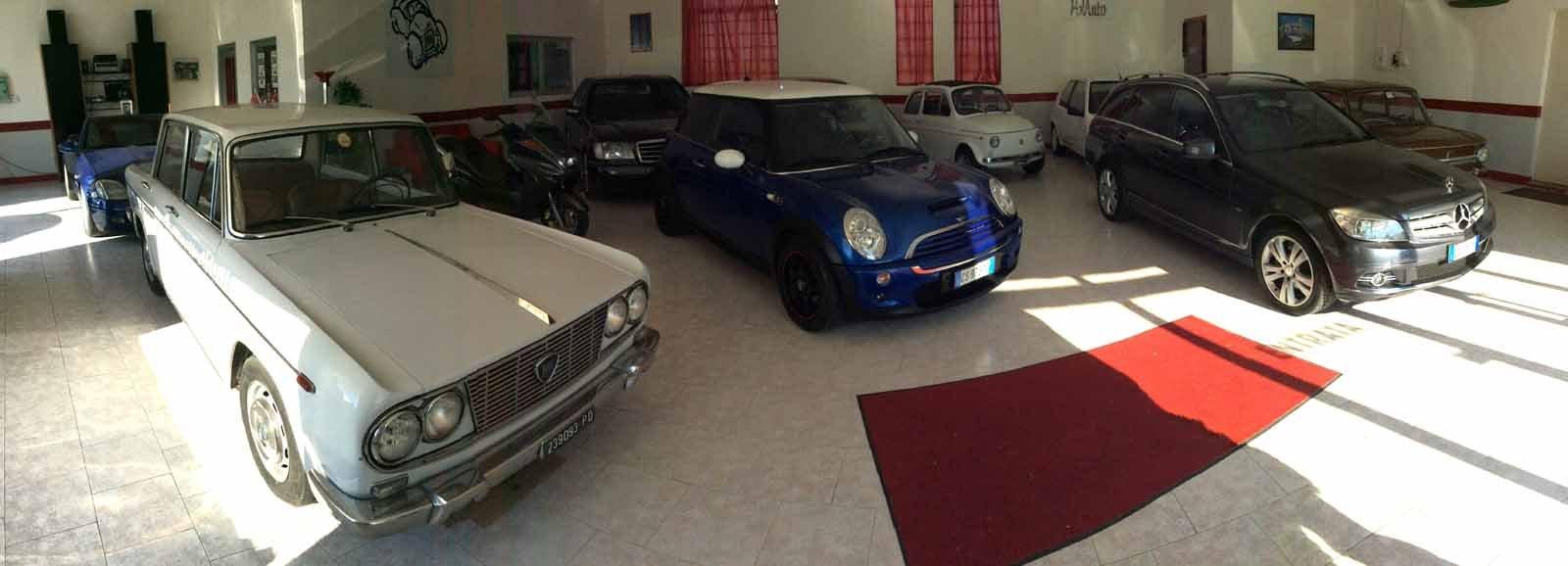 Tre auto d'epoca