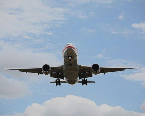 Un aereo in volo