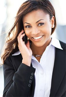 mortage-advisors-nottingham-the-independent-mortgage-shop-business-woman-on-phone