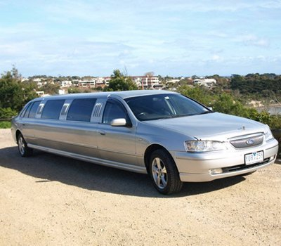 geelong and surf coast limousines limo car parked