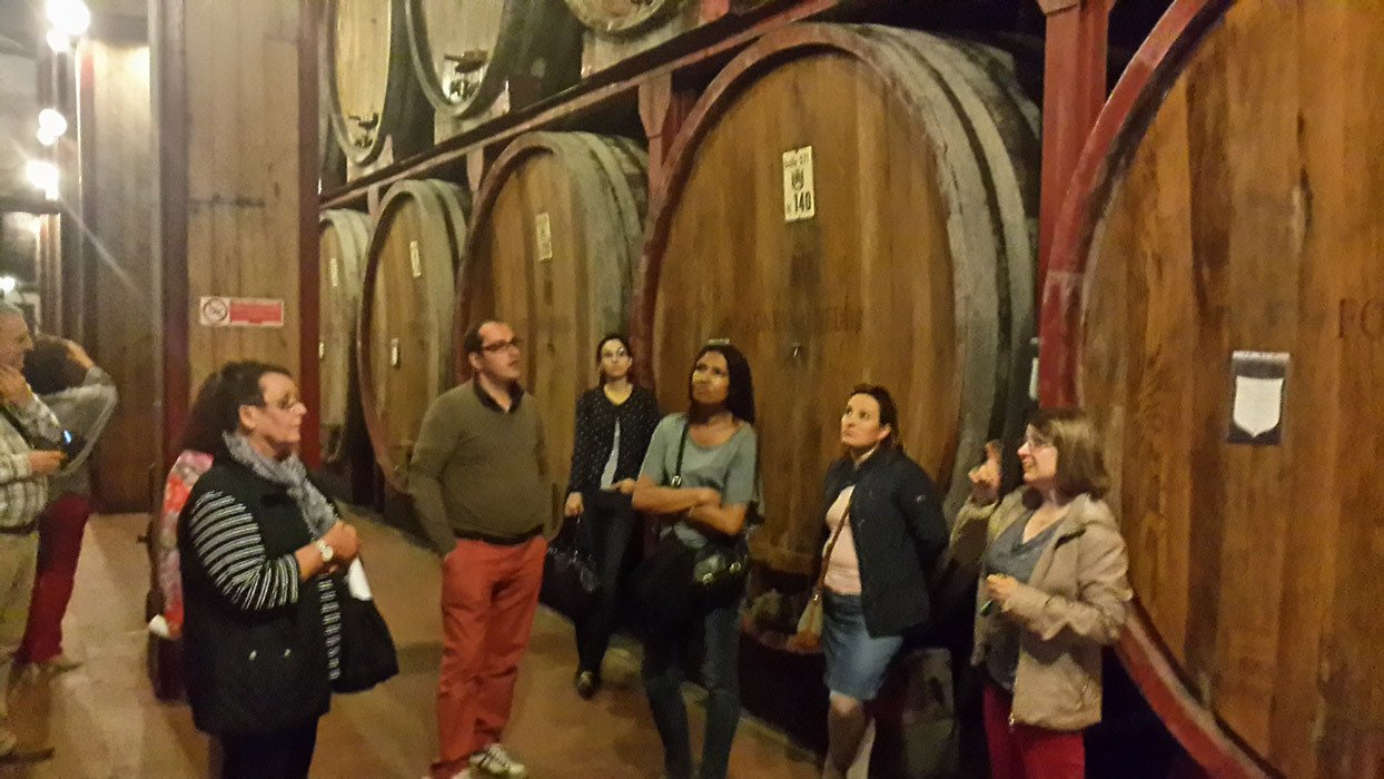Big Winery tour