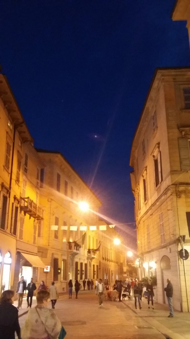 Amazing Pavia night shot at Italy tours
