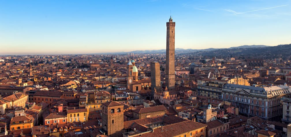 Twin Towers of the city- Small group tours to Italy