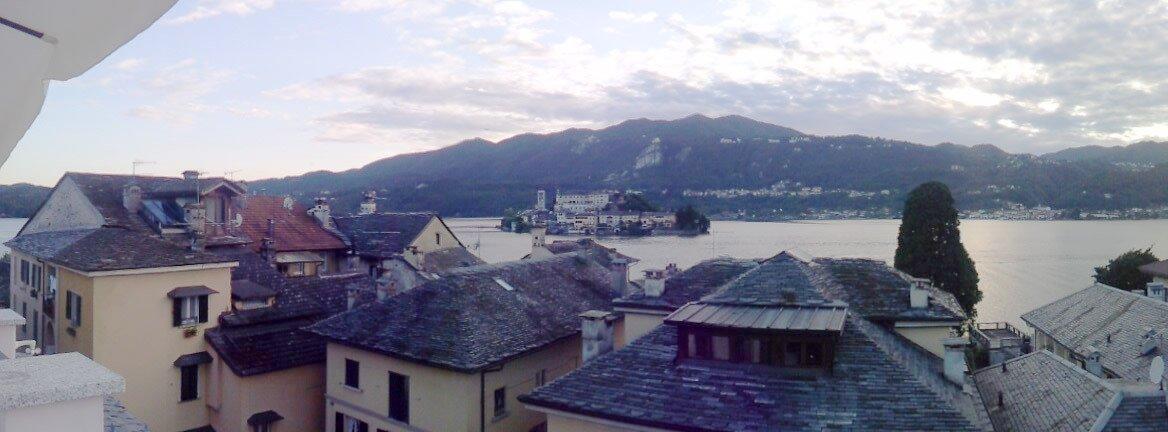 Glorious view of Sanctuary of Montallegro for Italy Tours