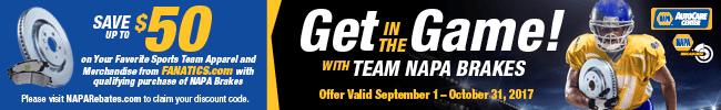 Save $50 on Sports Apparel