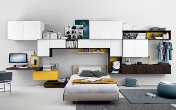 Camere da letto settimo torinese torino arredamenti - Camera letto singolo ...