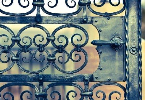 acciaio inossidabile, articoli di ferro battuto, cancellate