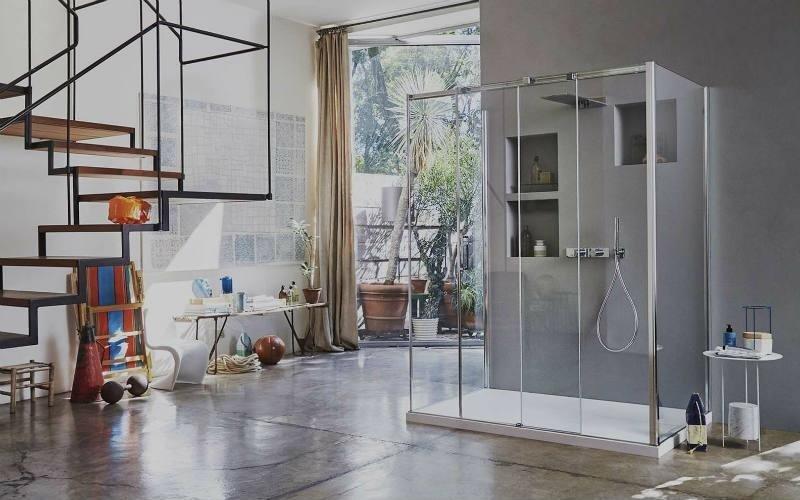 Cabine doccia in vetro