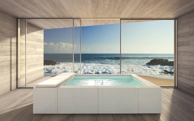installazione piscine design fuori terra