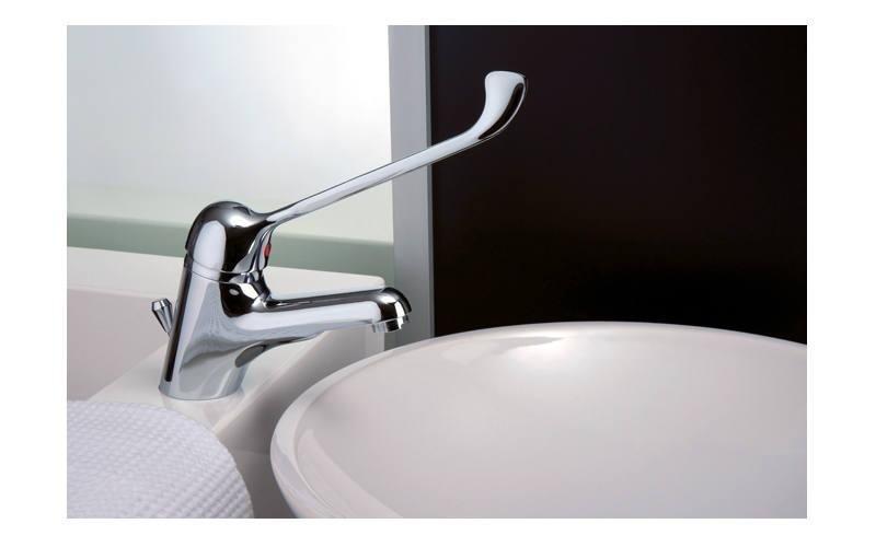 Lavandino bagno in ceramica rotondo