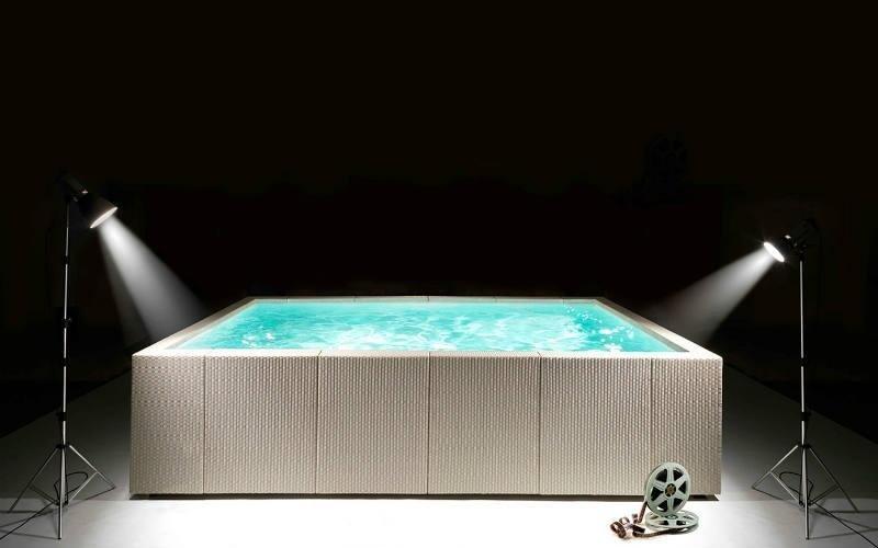 vendita piscine fiori terra design bianche