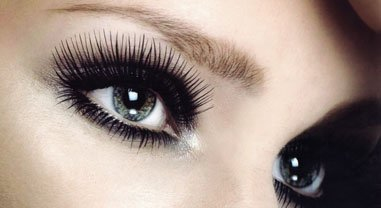 the makeup mirror long and stylish dark eyelashes