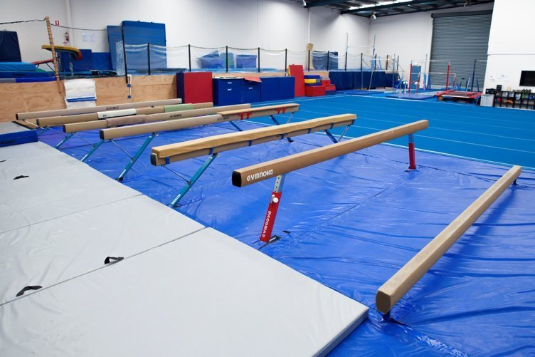 View of the Gymnastics Facilities