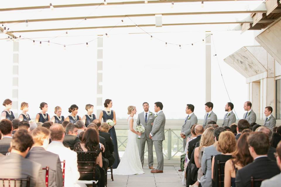 A wedding ceremony