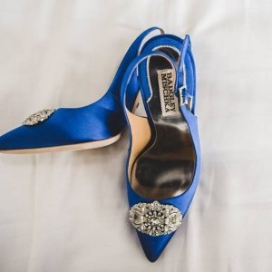 Heels for the bride