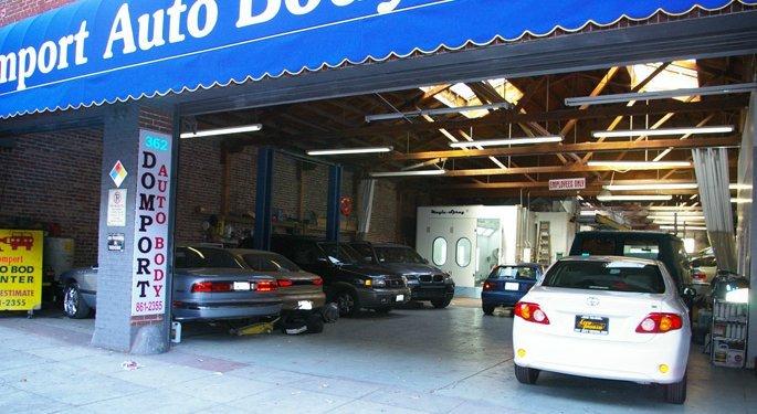 auto body repair shops San Francisco, CA
