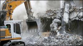 demolizione edifici residenziali