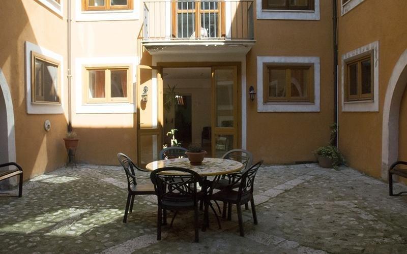 Atrio di Villa Troisi