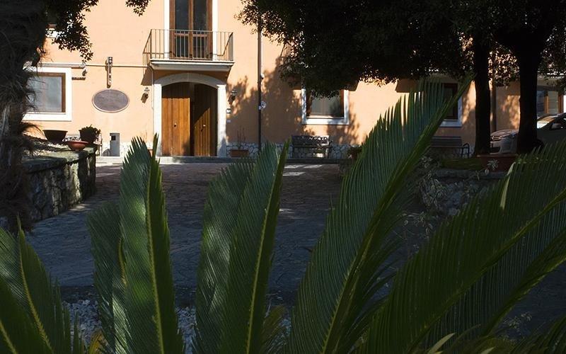 Vista dal giardino di Villa Troisi