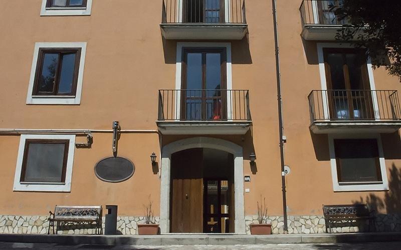 Entrata Villa Troisi