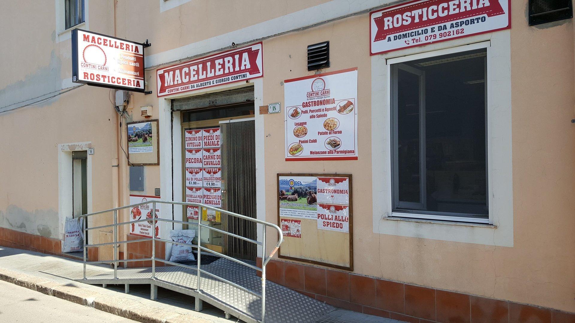 Esterno Macelleria Rosticceria Contini