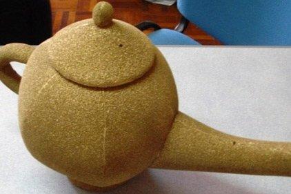 Lampada Aladino in gomma piuma