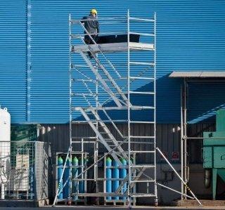 Torre mobile in alluminio