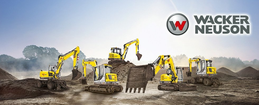 dealer wacker neuson, movimento terra, escavatori, miniescavatori