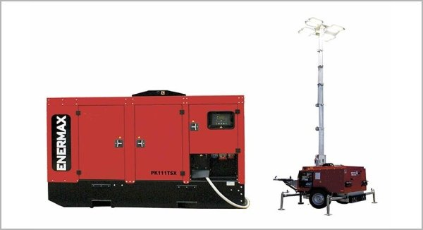 Generating sets and light towers