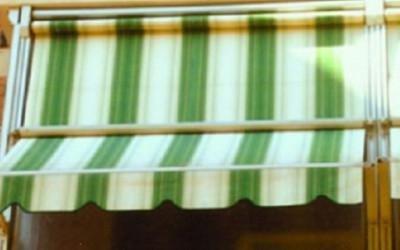 Tenda a veranda Magika frangivento doppio rullo