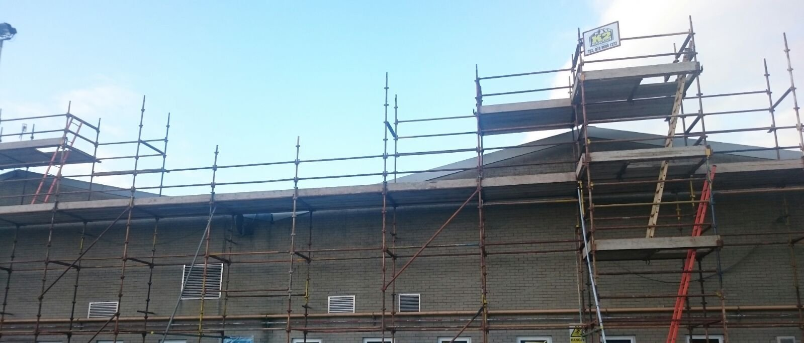 A reputable scaffolding company in Newtownabbey