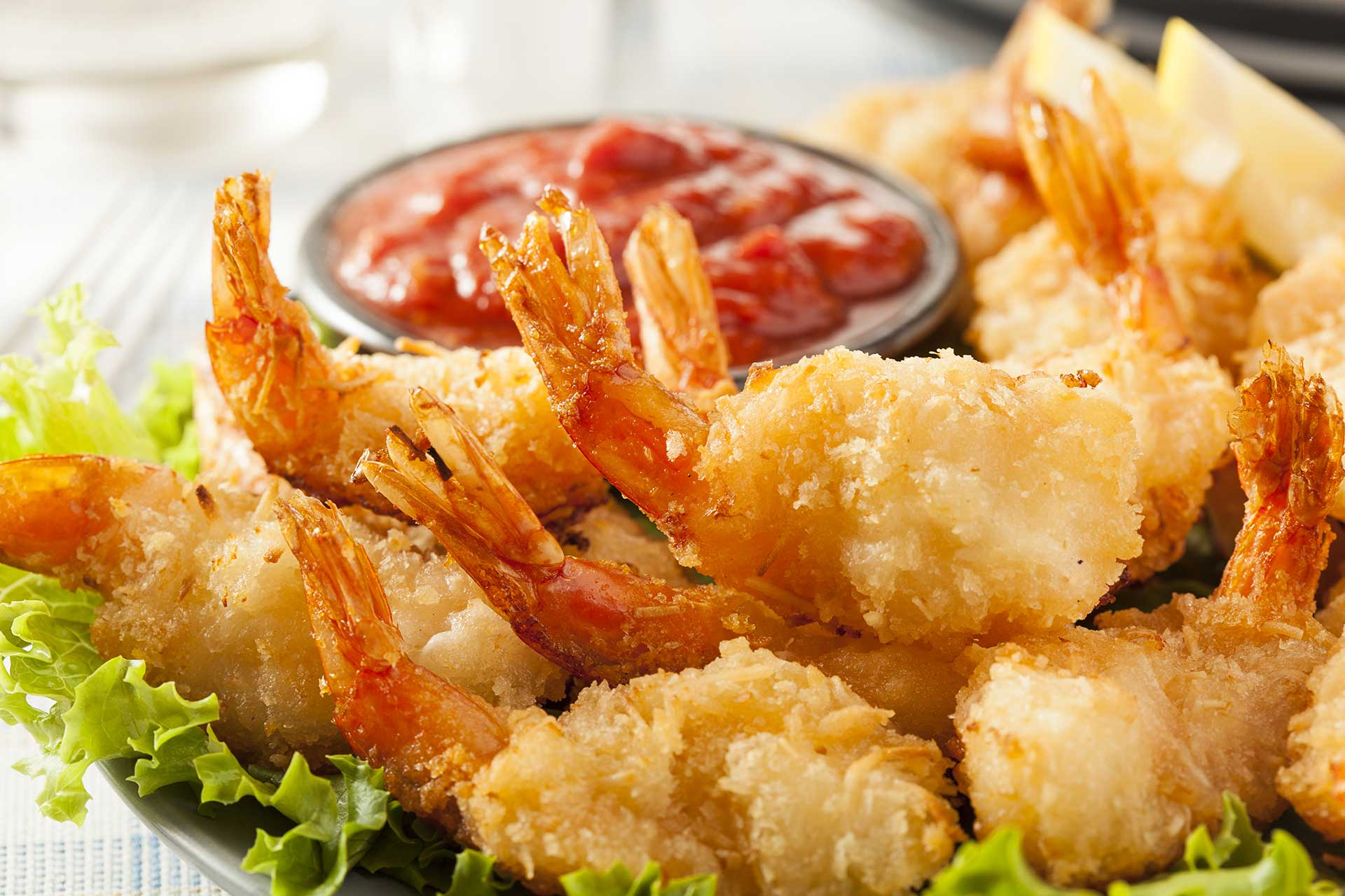 Andiamo!- Fried Shrimp
