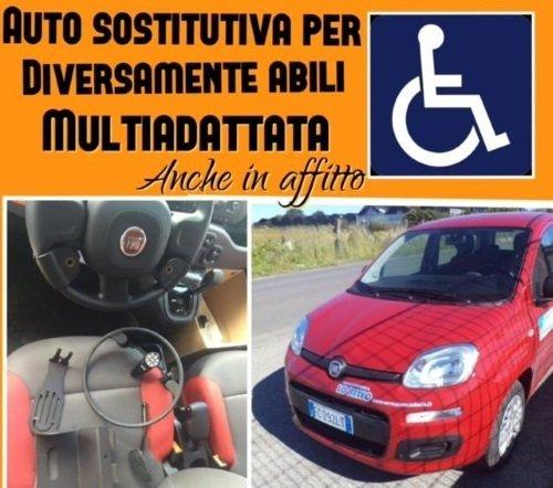 Auto multiadattata per i cliente disabili