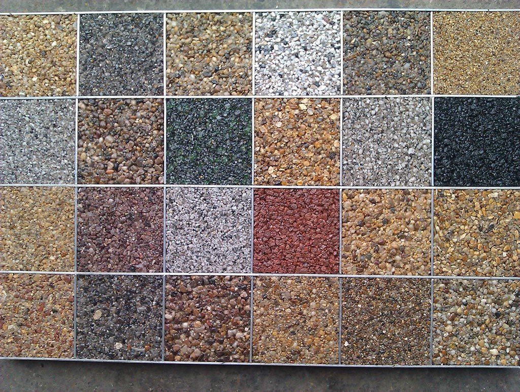 variety of natural stone flooring