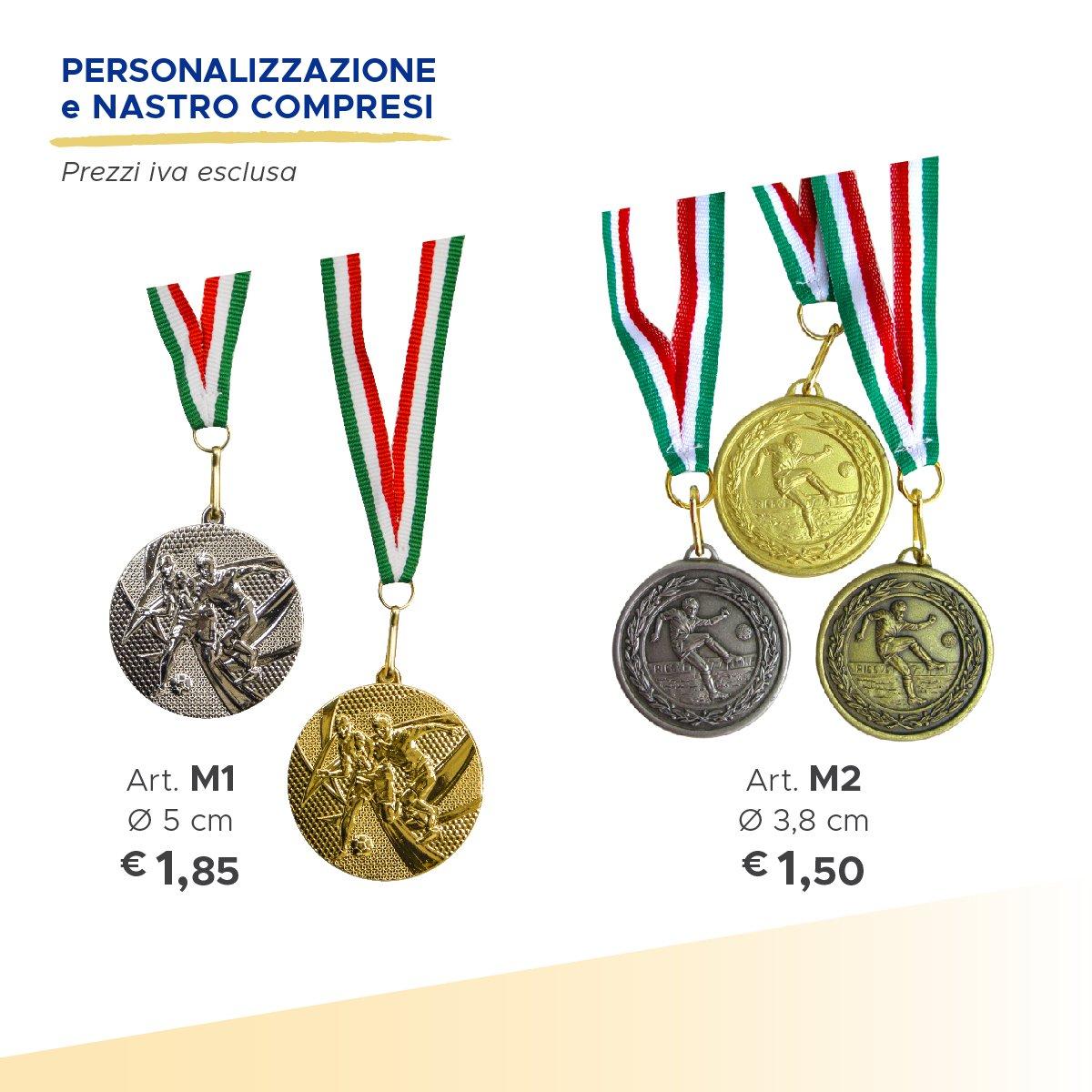 serie di medaglie