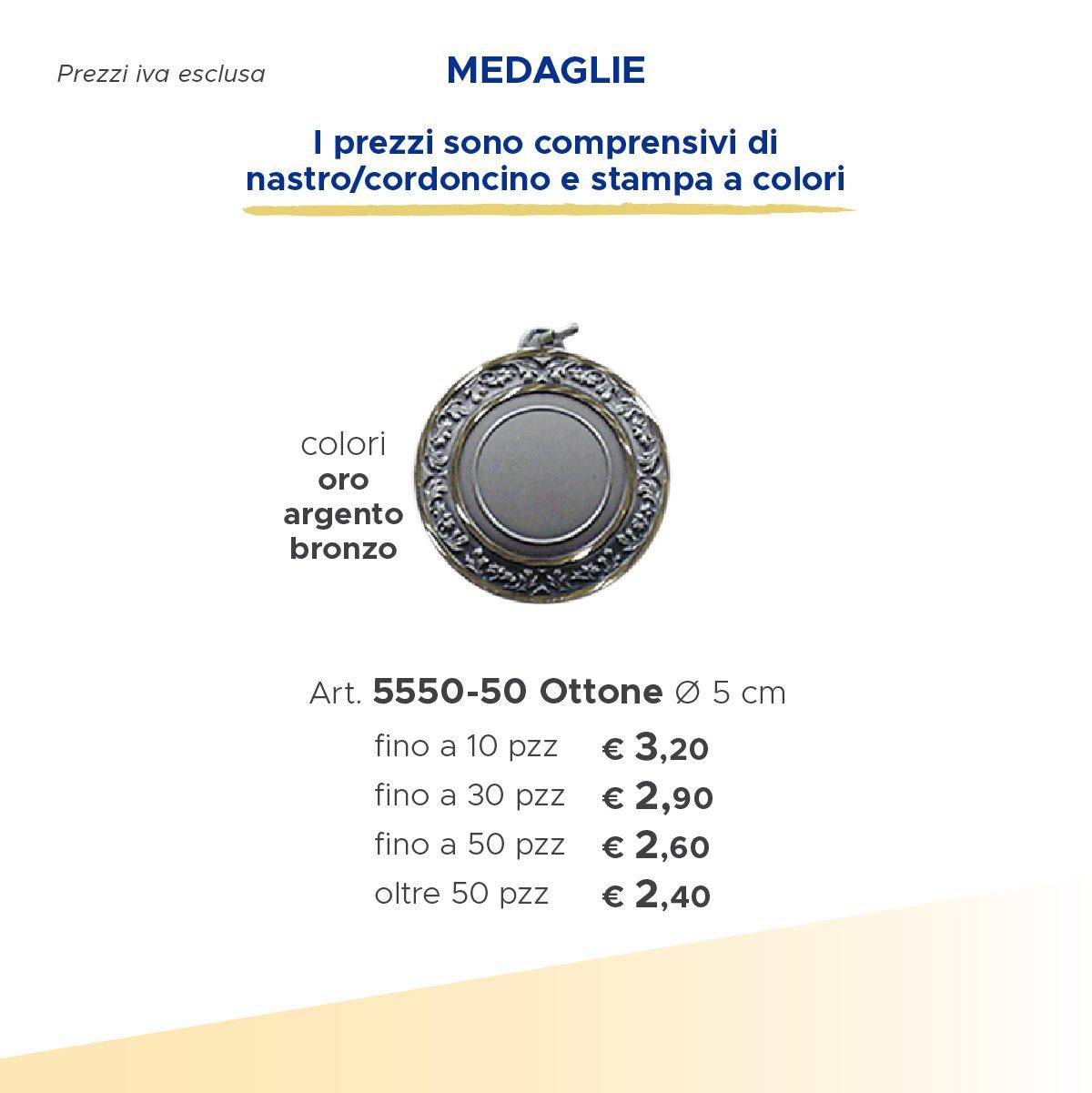 medaglia di argento